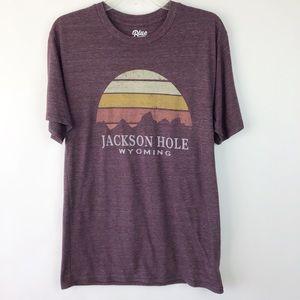 Blue 84 Jackson Hole Wyoming T-shirt S (1601)